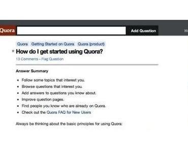Diaspora, Quora, wo bleibt das Web 3.0 ?