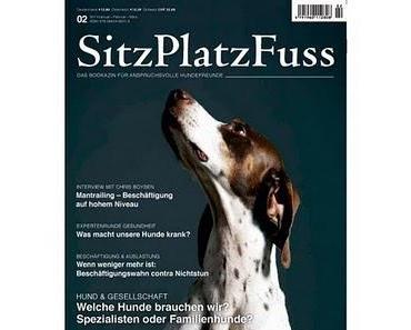 SitzPlatzFuss - neues Magazin zum Hund