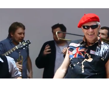 "Supergeil: LaBrassBanda feat. Captain Sensible – ""Say Captain, Say WOT!""  (Video)"