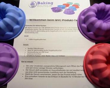 Küchenallerlei: QVC Baking Boutique Mini-Gugelhupfformen