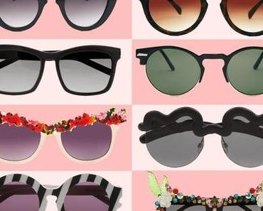 Inspiration: Sonnenbrillen im Sommer