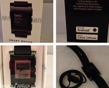 Mittwoch, Pebble Smartwatch und andere Neuigkeiten