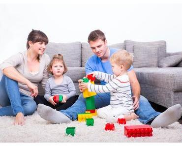 Praktisch Wohnen mit Baby