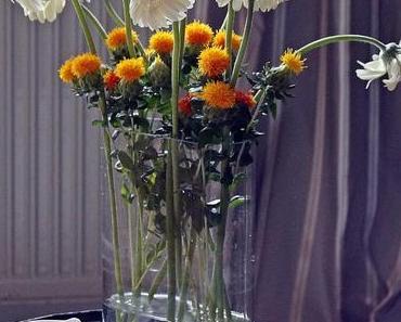 Heute gibt's wieder frische Blumen!Diesmal habe ich mich ...