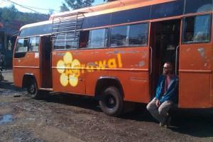 Mit dem Bus durch halb Indien