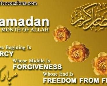 Muslime im Büro: 1 Monat Ramadan ab 28. Juni ! Alles Gute zum Bayram !