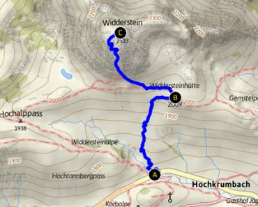 Besuch eines alten Bekannten – Großer Widderstein (2.533m)