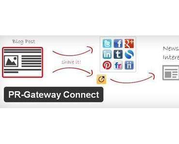 WordPress Plugin: Blog-Promotion über die Social Media mit PR-Gateway Connect