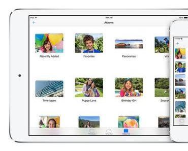 iOS 8 Vorschau – iCloud Fotomediathek
