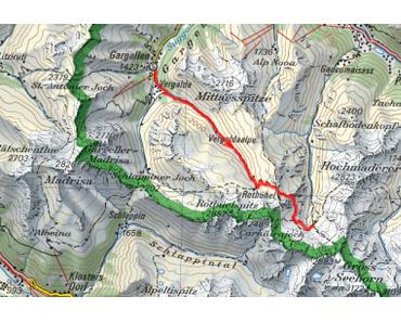 Hüttentour durch Rätikon und Silvretta