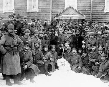 Einladung zur Eröffnung: KRIEG! JUDEN ZWISCHEN DEN FRONTEN 1914–1918