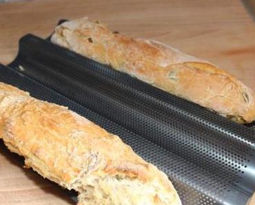Chia-Samen und Brot