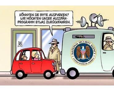 NSA will Überwachung herunterfahren und im Himmel ist Jahrmarkt...
