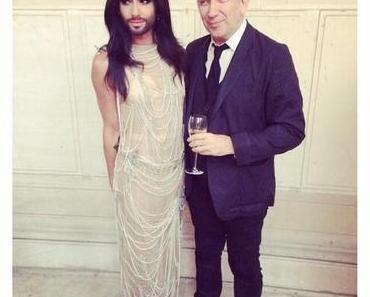Conchita Wurst Model für Jean Paul Gaultier