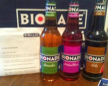 Bionade Limonade - neue Sorten Himbeer-Pflaume und Streuobst