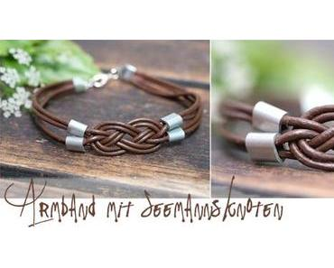 [diy] Armband mit Seemannsknoten