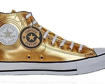 #Converse Chucks All Star Chuck Taylor Sneakers 106023 GOLD – 100 Years Edition