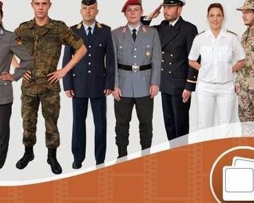Achtung Still gestanden !! Ein Job bei der Bundeswehr ? Rührt Euch !