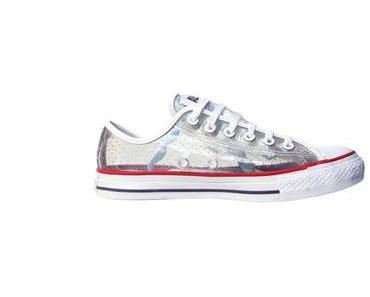 #Converse Chucks All Star 116545 Clear #Rubber Gummi transparente Sneakers #fussfetisch