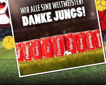 Coca-Cola mit dümmlicher Werbung
