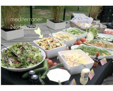 Sommer ist Salatzeit, 2 leckere Rezepte für Couscous Salat und einen mediterranen Nudelsalat