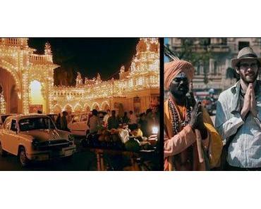 Reisevideo von Indien mit zwei Perspektiven