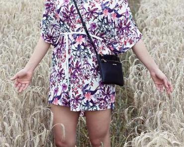 Das florale Sommerkleid
