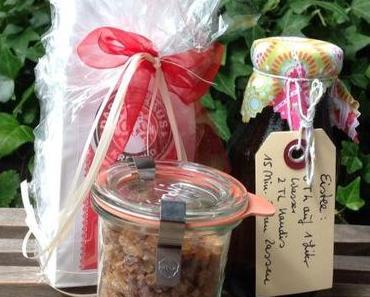Ice-Tea, ein Geschenk an heißen Tagen – oder – Der Eistee-DIY-Bausatz als Mitbringsel