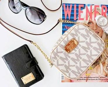 Summer Favorites :: Michael Kors Crossbody Bag Vanilla + Passport Case