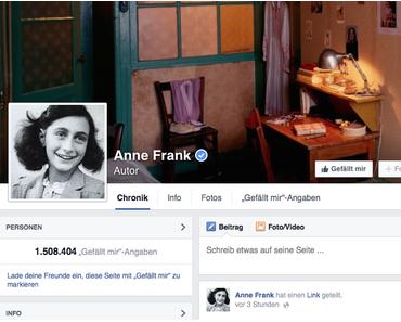 Anne Frank als Superstar der Erinnerungsgeschichte?