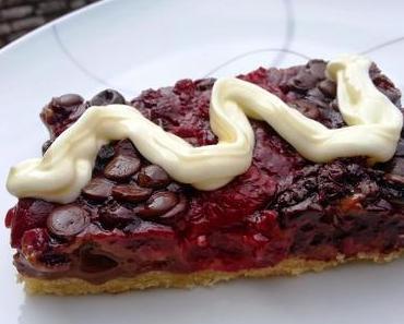 Schoko-Beeren-Kuchen vom Blech