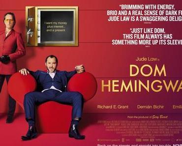 Review: DOM HEMINGWAY – Auch Arschlöcher haben Gefühle
