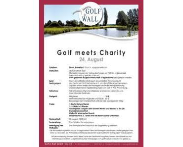 Nur noch 14 Tage und dann startet das 1. Golf meets Charity Golfturnier in Brandenburg