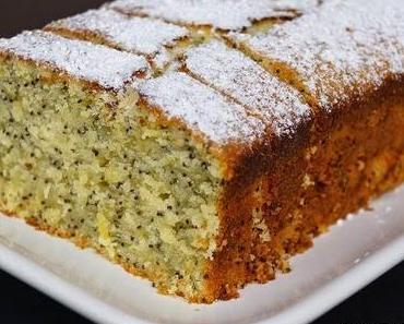 Backzeit: Zitronen-Mohn-Kuchen