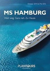 Plantours Kreuzfahrten: MS HAMBURG stellt neue Touren bis 2016 vor, Thailand, Vietnam und Hongkong