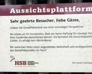 Die Harzer Schmalspurbahn in Wernigerode – ein Traum für jeden Eisenbahnfreund