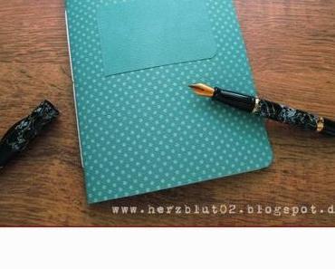 {DIY} Schreibheft mit Register selber machen - mit und ohne Envelop Punch Board