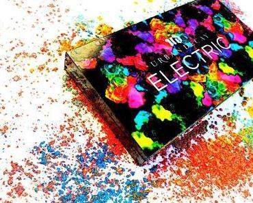 Urban Decay ELECTRIC Palette - Farben unter Hochspannung