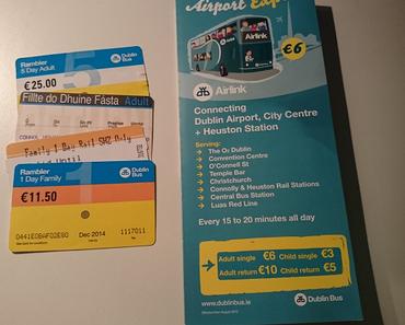 Öffentlicher Verkehr in Dublin - kann man machen