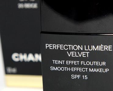 |REVIEW| Chanel Perfection Lumière Velvet Foundation 20 Beige