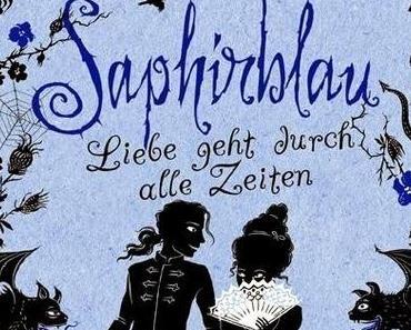 Rezension Kerstin Gier: Liebe geht durch alle Zeiten 02 - Saphirblau