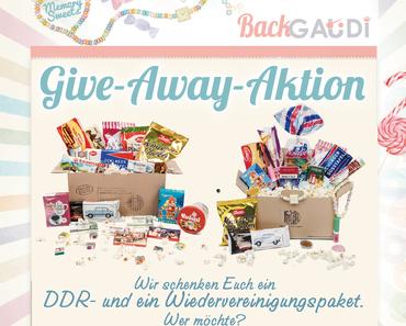 DDR-Süssigkeiten-Paket & Wiedervereinigungspaket