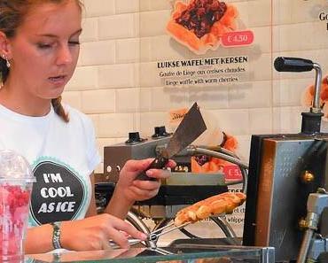 Brügge/Belgien – Waffeln, Pannekoeken und Cappuccino mit Sahne