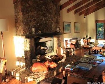 Suite mit Ausblick in der Elephant Hide of Knysna Guest Lodge