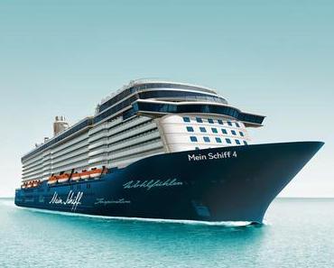 Tui Cruises Taufe: Mein Schiff 4 wird am 05.06.2015 in Kiel getauft...Taufe buchbar!