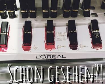|Lippenstiftliebe| L'Oréal Color Riche Collection Privée... Mac Dupe?!