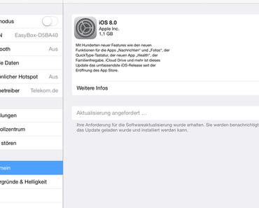 """Löscht ihr noch oder ladet ihr schon? - Heute wurde iOS 8 für iPad, iPhone und iPod ausgerollt. Einige erlebten dabei eine unangenehme Überraschung. Insbesondere Besitzer von 16 GB - Geräten dürften """"betroffen"""" sein."""