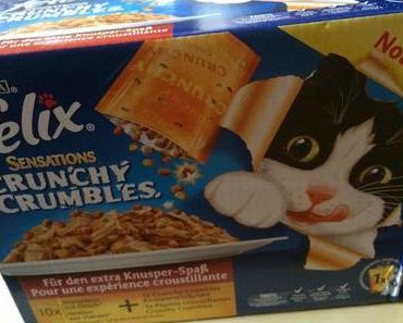Produkttest Felix Sensations Crunchy Crumbles