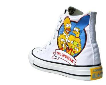 The #Simpsons x #Converse Chucks Nr. 146809 HI All Stars Lisa Marge Homer Bart Simpson