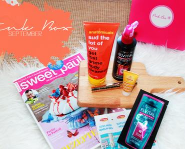 Unboxing September 2014   Pink Box & Gourmet Box